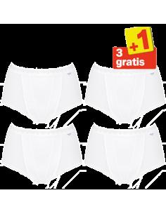 Sloggi Women Control Maxi 4 pack White 3+1 free