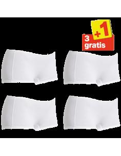 Sloggi Women Feel Sensational Short 02 4 pack White 3+1 Free