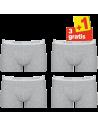 Sloggi Men Basic Short 4pack Grey 3+1 Free
